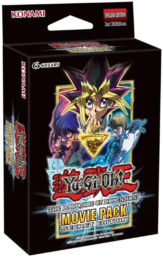 Yugioh Mega Tin 2020 Card List.Yu Gi Oh The Dark Side Of Dimensions Movie Pack Secret