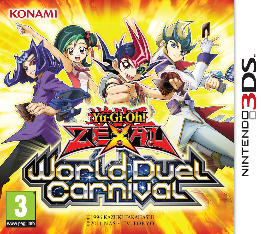 Yu gi oh zexal world duel carnival promotional cards