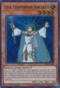 YuGiOh! TCG karta: Lyla, Lightsworn Sorceress