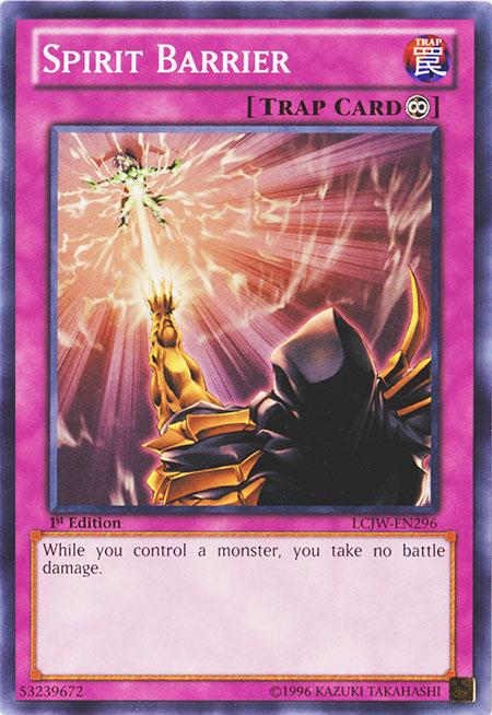 Yu-Gi-Oh Rare Spirit Barrier CP05-EN020