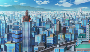 Den City in Anime