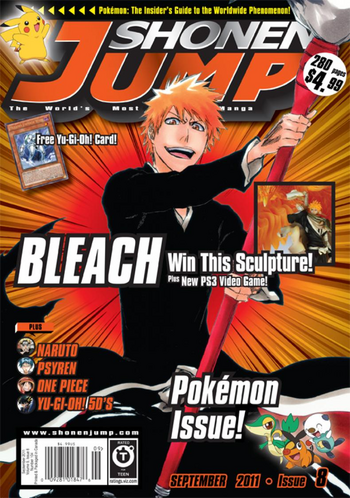 <i>Shonen Jump</i> Vol. 9, Issue 8