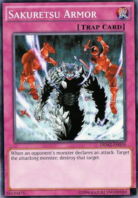 YuGiOh! TCG karta: Sakuretsu Armor