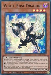 YuGiOh! TCG karta: White Rose Dragon