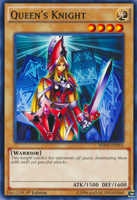 YuGiOh! TCG karta: Queens Knight