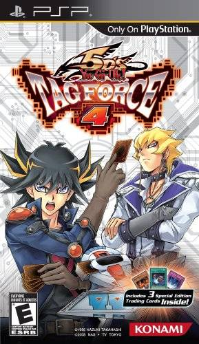 Yu-Gi-Oh 5Ds Tag Force 4VENOM PSP ISO Free Download
