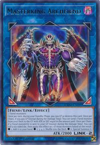 YuGiOh! TCG karta: Masterking Archfiend