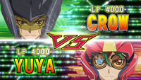 Crow VS Yuya