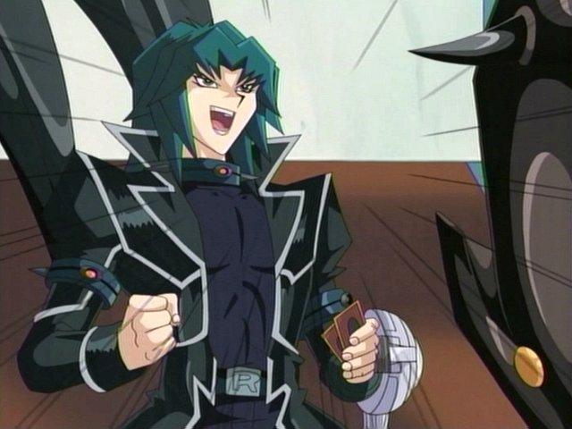 Resultado de imagen de cyber dragon player yugioh gx series