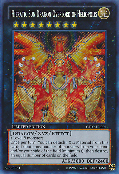 Hieratic Sun Dragon Overlord of Heliopolis | Yu-Gi-Oh! | FANDOM