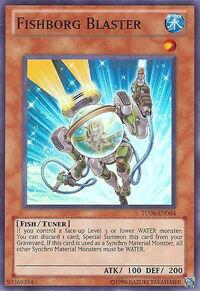 YuGiOh! TCG karta: Fishborg Blaster