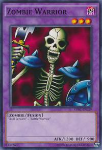 YuGiOh! TCG karta: Zombie Warrior