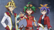 Arc V Silvio, Selena and Yuya