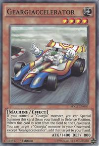 YuGiOh! TCG karta: Geargiaccelerator