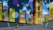 Yugo and Yuzu ride through City