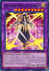 YuGiOh! TCG karta: Arcana Knight Joker