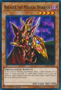 YuGiOh! TCG karta: Breaker the Magical Warrior