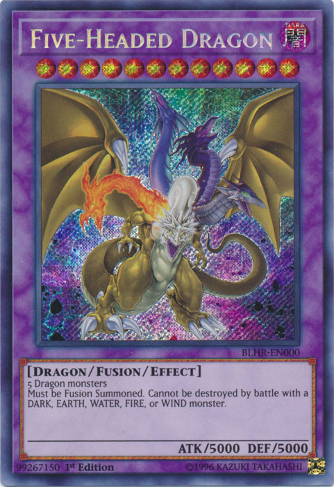 Five-Headed Dragon | Yu-Gi-Oh! | FANDOM powered by Wikia