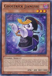 YuGiOh! TCG karta: Ghostrick Jiangshi
