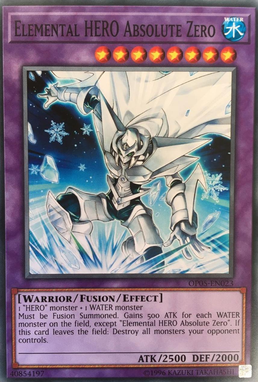 elemental hero absolute zero yu gi oh fandom powered by wikia