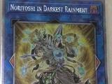 Noritoshi in Darkest Rainment