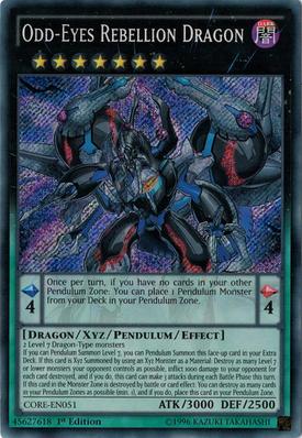 OddEyes Rebellion Dragon CORE