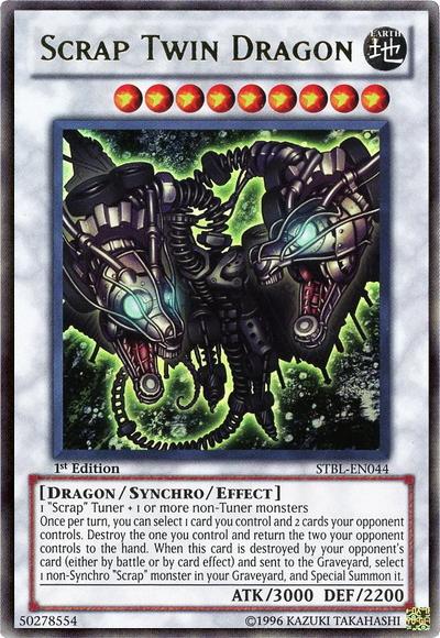 Scrap Twin Dragon | Yu-Gi-Oh! | FANDOM powered by Wikia