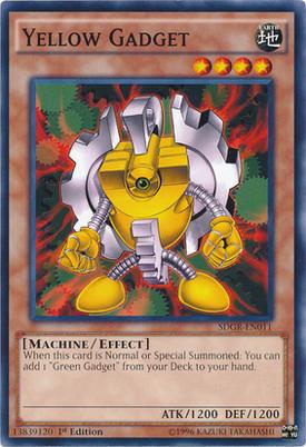Yellow Gadget SDGR