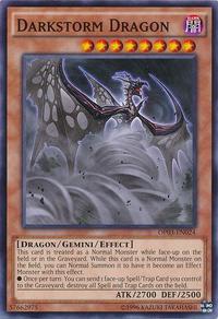 YuGiOh! TCG karta: Darkstorm Dragon