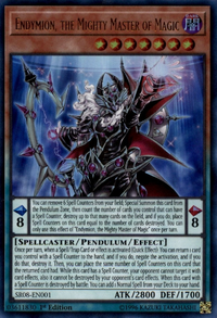YuGiOh! TCG karta: Endymion, the Mighty Master of Magic