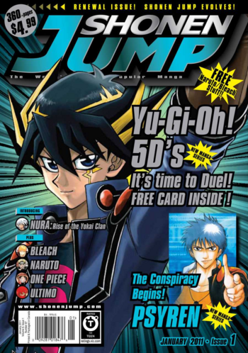 <i>Shonen Jump</i> Vol. 9, Issue 1