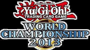 <i>Yu-Gi-Oh! World Championship 2013</i> prize cards