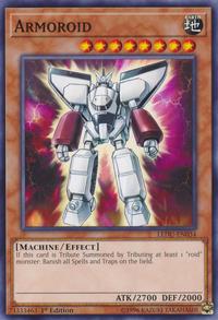 YuGiOh! TCG karta: Armoroid