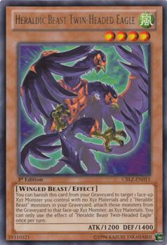 Heraldic Beast Twin Eagle CBLZ
