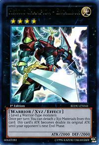 YuGiOh! TCG karta: Heroic Champion - Excalibur