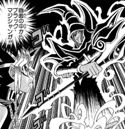 D-101 Dark Magician came out the screen