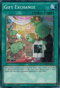 YuGiOh! TCG karta: Gift Exchange