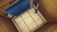 Kyoko's apartment elevator
