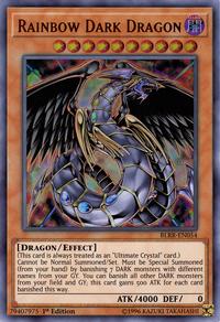 YuGiOh! TCG karta: Rainbow Dark Dragon