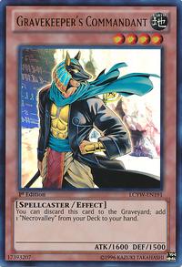 YuGiOh! TCG karta: Gravekeepers Commandant
