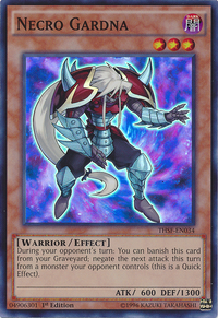 YuGiOh! TCG karta: Necro Gardna