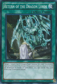 YuGiOh! TCG karta: Return of the Dragon Lords