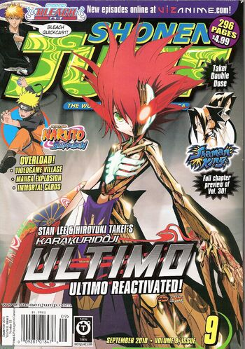 <i>Shonen Jump</i> Vol. 8, Issue 9