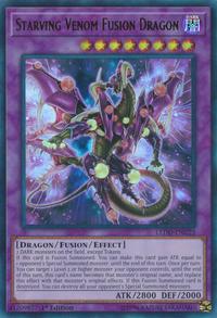 YuGiOh! TCG karta: Starving Venom Fusion Dragon