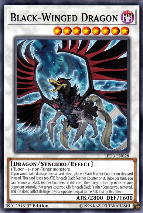 Black Winged Strafe Yugioh Card Genuine Yu-Gi-Oh Trading Card