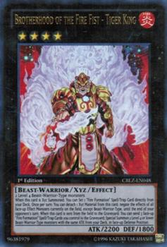 Fire Fist Tiger King CBLZ
