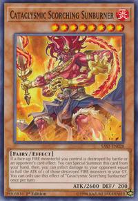YuGiOh! TCG karta: Cataclysmic Scorching Sunburner