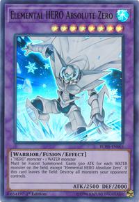 YuGiOh! TCG karta: Elemental HERO Absolute Zero