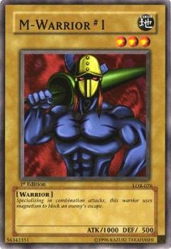 M Warrior 1 LOB