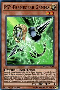 YuGiOh! TCG karta: PSY-Framegear Gamma